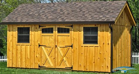 board  batten shed rustic storage shed horizon
