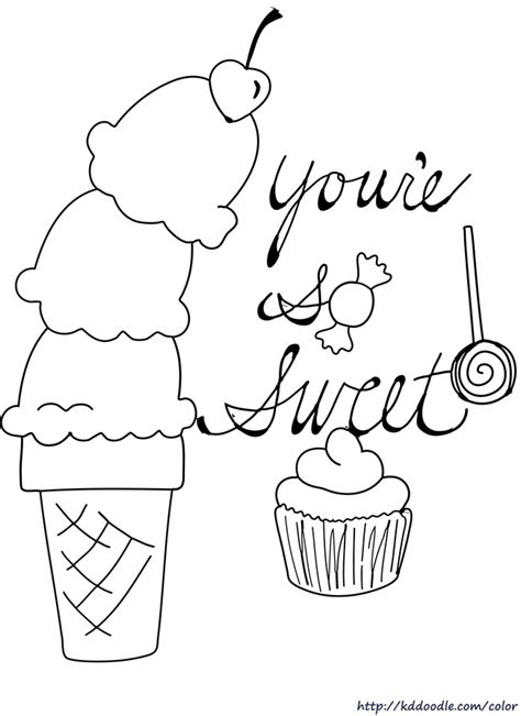 coloring pages with ice cream ice cream color pages az coloring pages