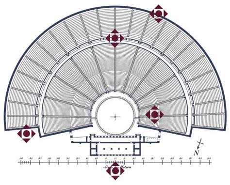 United States Map epidaurus theatre panorama tour