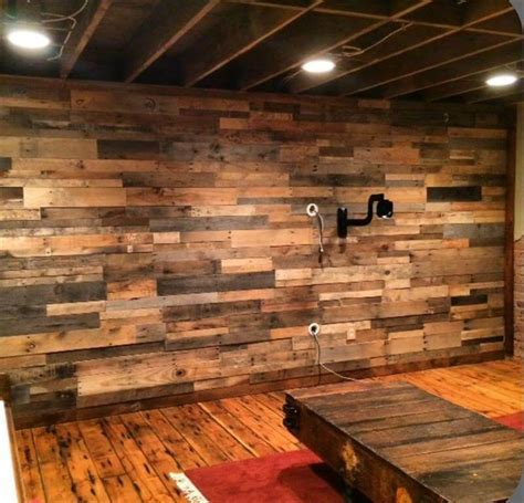 DIY Wood Pallet Wall Ideas and Paneling