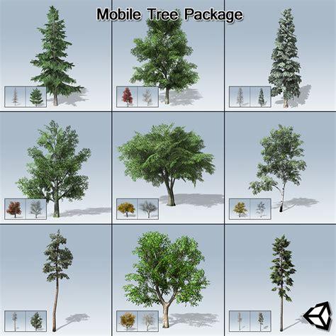 mobile tree package unity speedtree