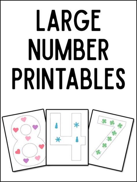 Large Printable