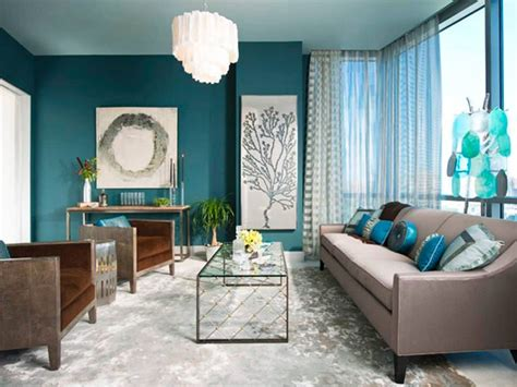 Teal And Gray Curtains Decorating 22 Teal Living Room Designs Decorating Ideas Design Trends