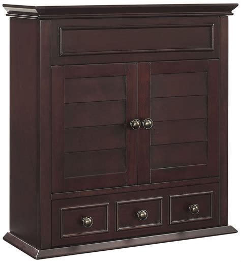 crosley furniture lydia bathroom wall cabinet espresso ebay