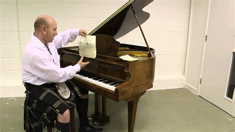 Small But Grand by Walnut Boyd Small Baby Grand Piano Demonstrated By