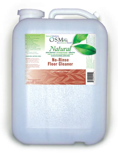 osm natural floor cleaner  gallon