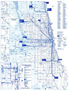 Chicago Truck Routes Map by Chicago Bus Map My Blog