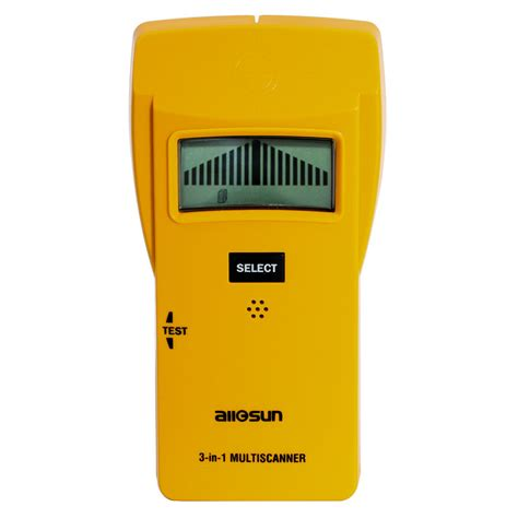 All Sun 3 In 1 Metal Detector Led Wood Stud Finder Ac Wire Tracker all sun ts79 stud metal ac detector 3 in 1