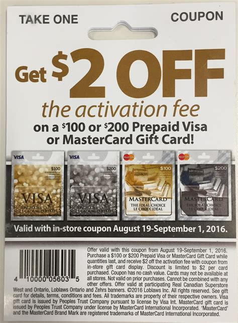 Visa Gift Cards With No Activation Fee - visa prepaid activation fee