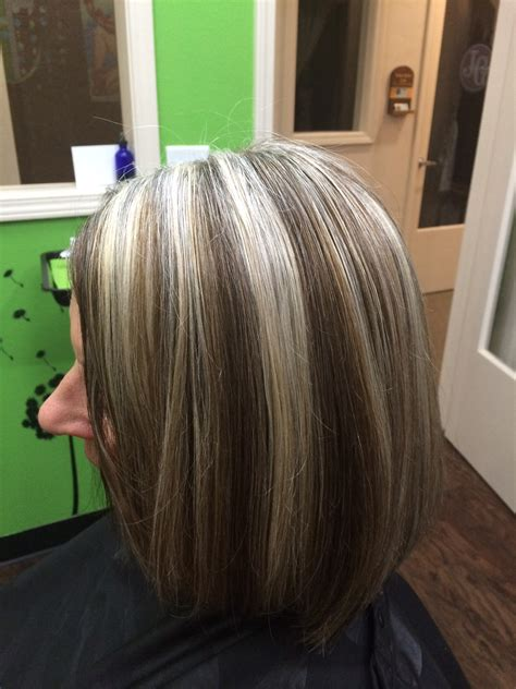 diy lowlights to color grays best 25 brown hair grey highlights ideas ash and mixed