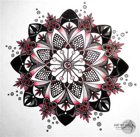 mandala dotwork tattoo sketch by asikaart on deviantart