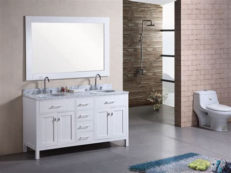 bathroom vanities london 61 quot london double sink vanity white bathgems com