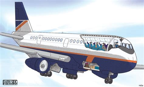 airplane cross section airplane cross section by kronosaurus82 on deviantart