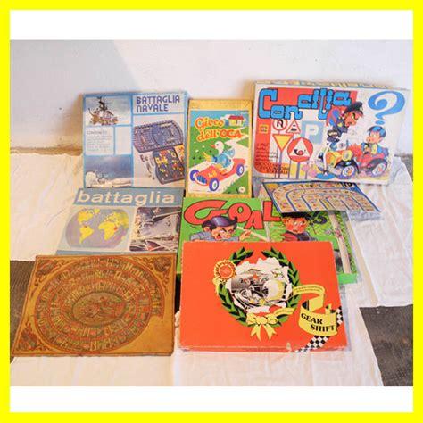 giochi da tavolo anni 70 giochi in scatola e giochi da tavolo vintage anni 50 70