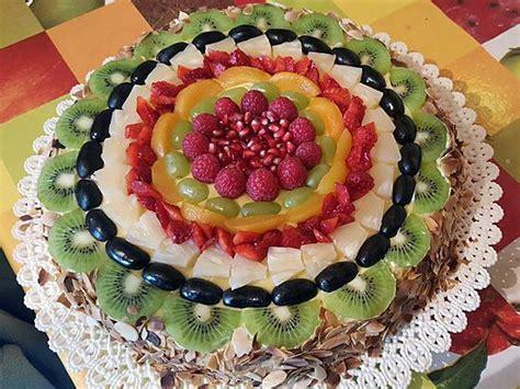 Decoration Genoise Aux Fruits by Recette De G 233 Noise Aux Fruits Par Gigia