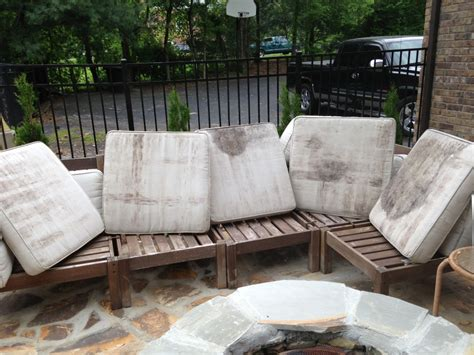 How To Clean Patio Furniture Cushions How To Rehab An Outdoor Sectional