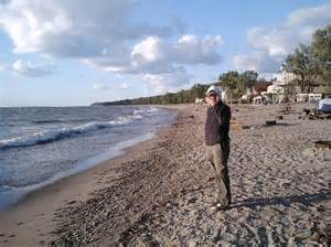 look at those waves picture of presque isle state park