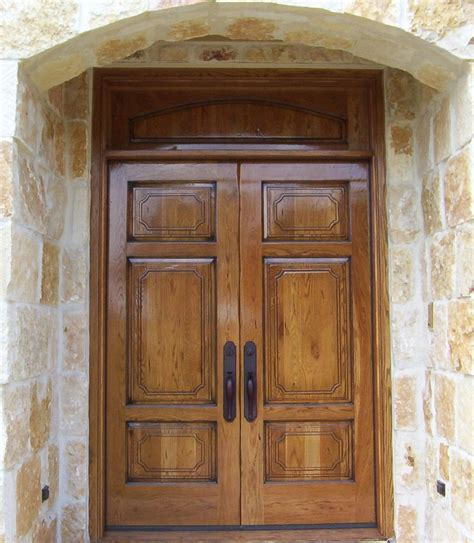 Exterior Door Wood Wood Entry Doors Applied For Home Exterior Design Traba Homes