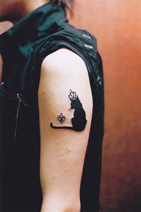 small black cat tattoo 41 cat tattoos design desiznworld