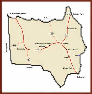 map of grand county colorado ghost towns of colorado grand county