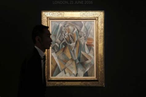 picasso painting sale today picasso cubist work seen fetching 43 million at