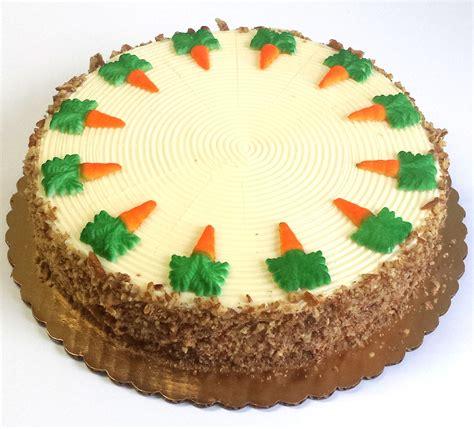 veniero s product list - 10 Inch Carrot Cake