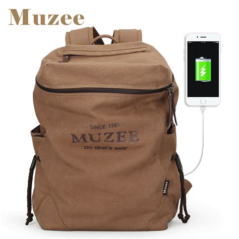 Backpack 3 Student Book muzee new backpack canvas backpack bags college student book bag large capacity fashion