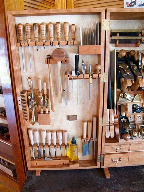 Woodworking Tool Cabinet Layout   WoodWorking Projects & Plans