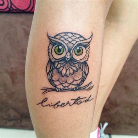 blue owl tattoo on leg tattoo designs pinterest blue owl tattoos and words on pinterest