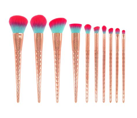 Make Up Brush rainbow collection makeup brushes set gwa