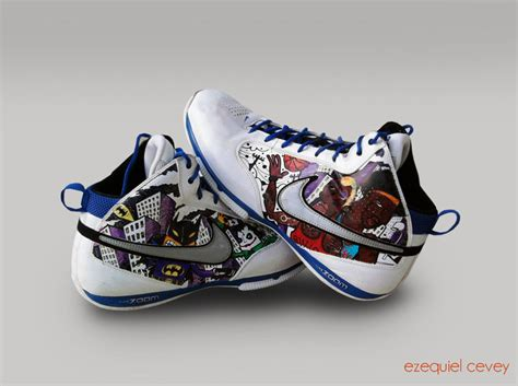 batman basketball shoes custom shoes batman rodman wallace by surfender on