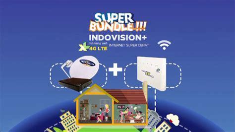 Wifi Indovision bundle indovision xl 4g lte