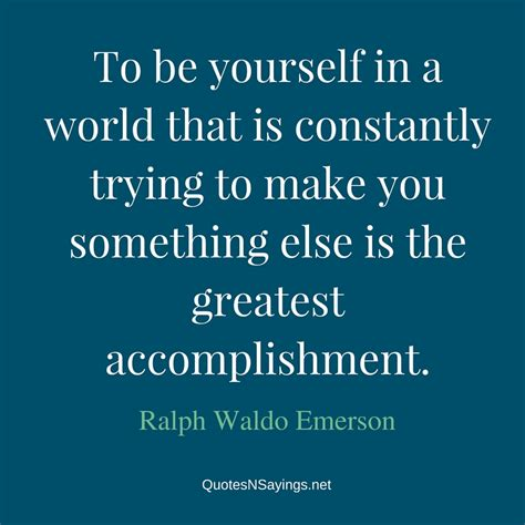 ralph waldo emerson quotes ralph waldo emerson quotes to be yourself www pixshark