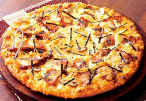 Pizza Medium So Corn Chiken Chesee 10 pizzas from japan soranews24