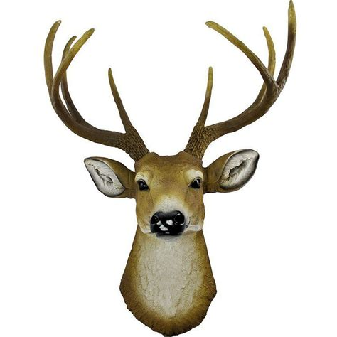 deer head wall l antler 8 point buck deer head bust wall hanging figurine