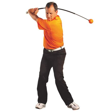 orange ball golf swing trainer orange whip swing trainers tgw com