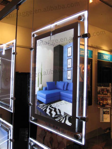lighted window displays acrylic led light pocket real estate window led display buy real estate widow led
