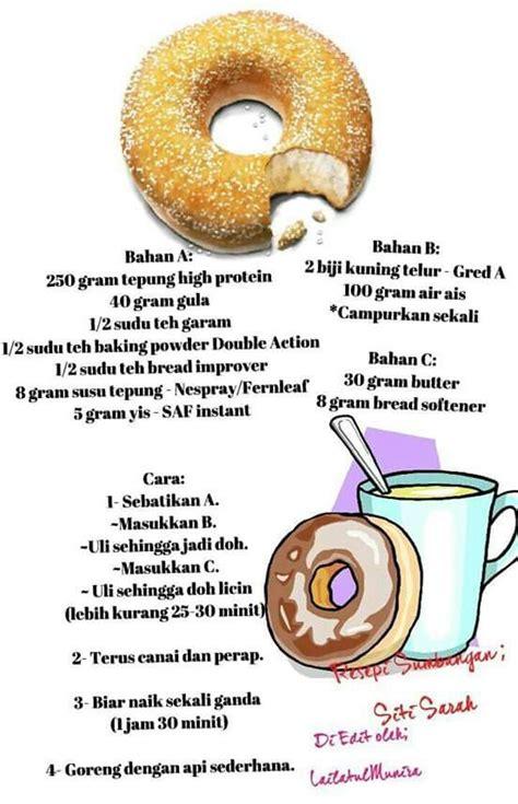 cara membuat donut big apple resepi donut ala big apple yummy bun bread