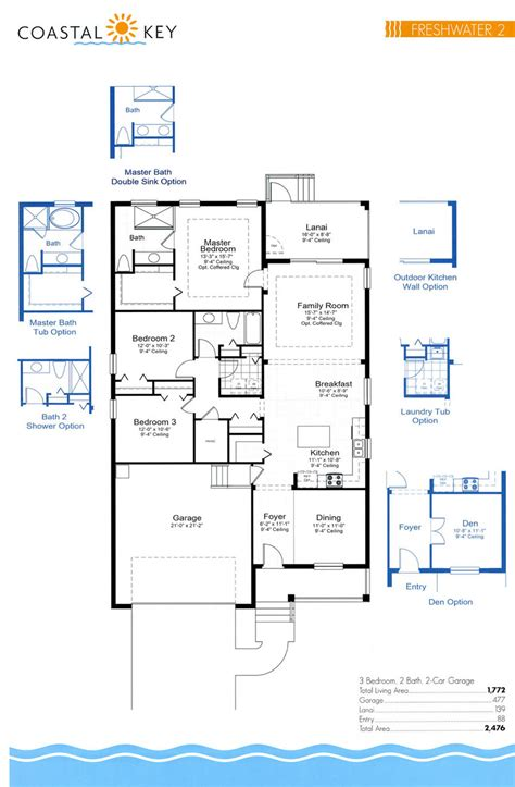 floor plan key coastal key floor plans