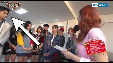 dk licence to dream seventeen dokyeom x twice jihyo moment kbs gayo