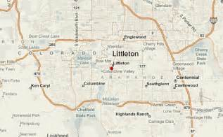 littleton colorado map littleton location guide