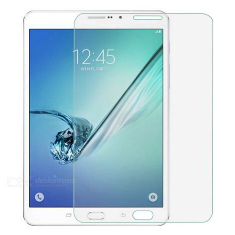 Tempered Glass Screen Protector For Samsung T715 tempered glass screen protector for samsung tab s2 8 0 t710 t715 free shipping dealextreme