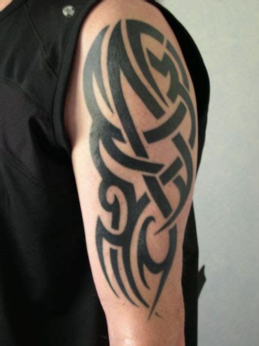 tattoo upper arm tribal arm tattoos and designs page 215