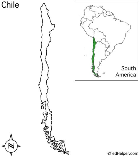 coloring page map of chile chile map outline my blog