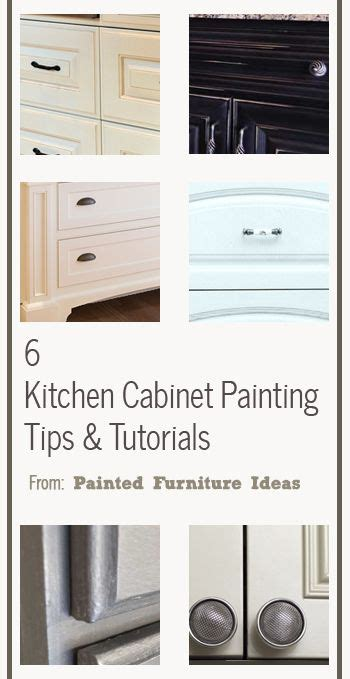 kitchen cabinet painting techniques 6 kitchen cabinet painting tips tutorials creative diy