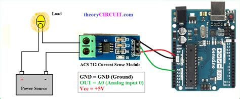 hall effect current sensor circuit  arduino