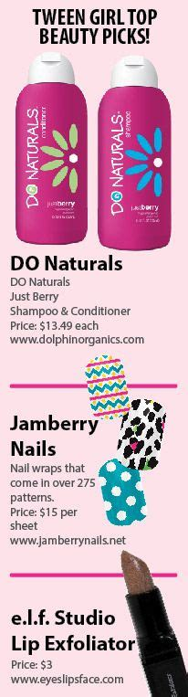 Do naturals is one of tween girl style magazine s top beauty picks