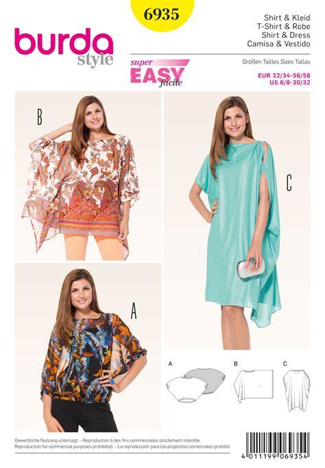 Pattern Draping Burda 6935 Dresses