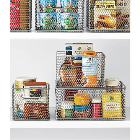 kitchen cabinet storage containers omaha stacking bins the container store