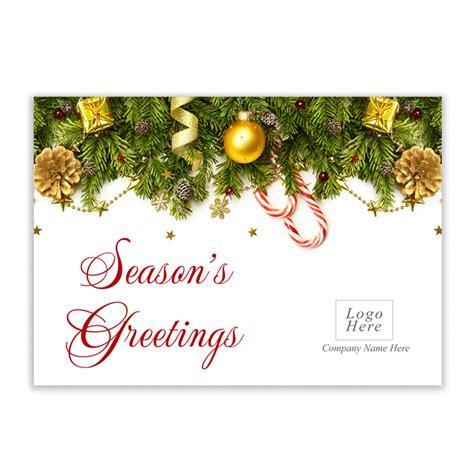 seasons greeting corporate card
